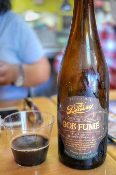 2014 The Bruery Bois Fumé