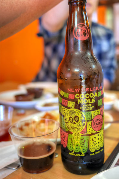 2015 New Belgium Lips of Faith Cocoa Mole
