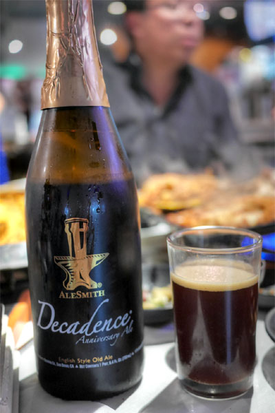 2010 AleSmith Decadence 2010 English Style Old Ale