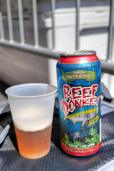 Tampa Bay Brewing Reef Donkey