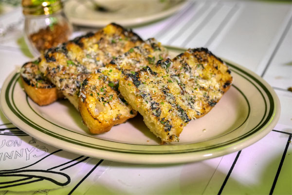 parmesan garlic bread