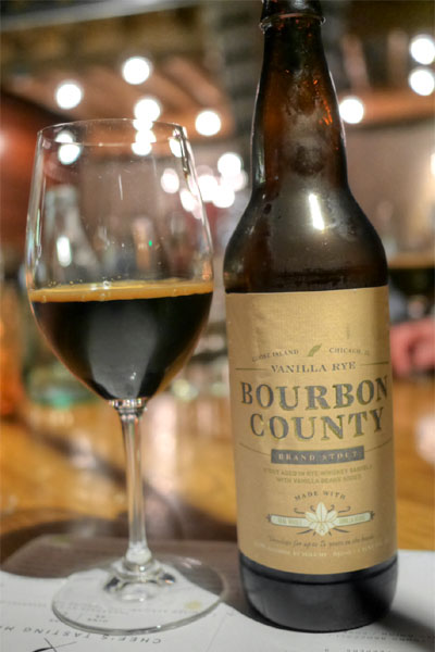 2014 Goose Island Bourbon County Vanilla Rye