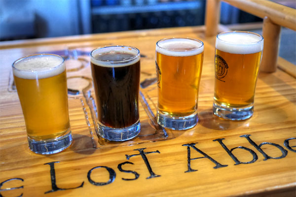The Lost Abbey Carnevale / Port Brewing Board Meeting / Mongo IPA / The Hop Concept Citrus & Piney