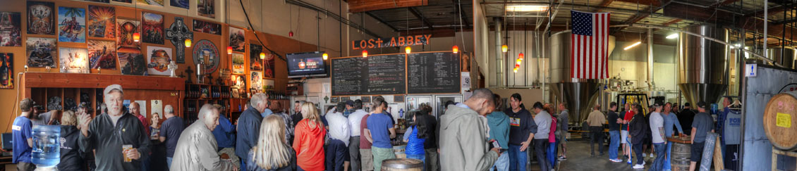 The Lost Abbey / Port Brewing Tasting Room