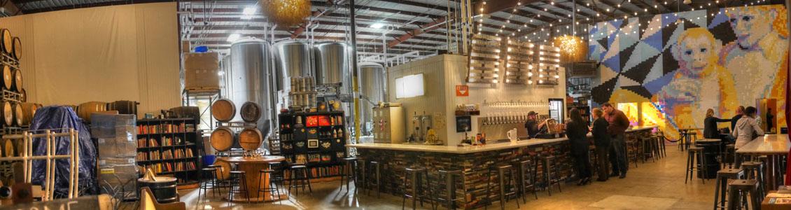 Modern Times Beer Tasting Room