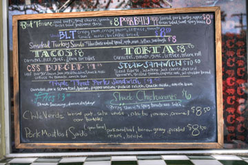 Carnitas' Snack Shack Menu