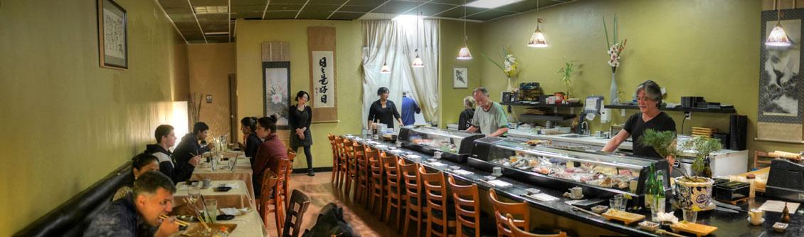 Kaito Sushi Interior