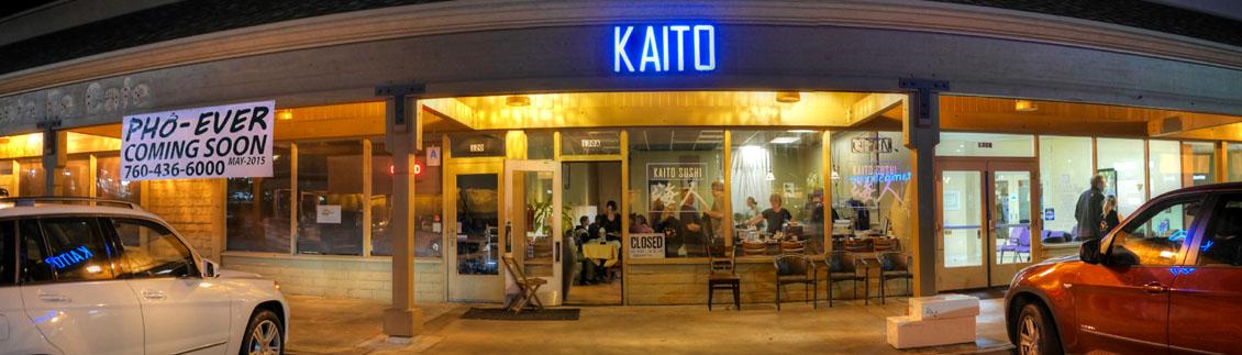 Kaito Sushi Exterior