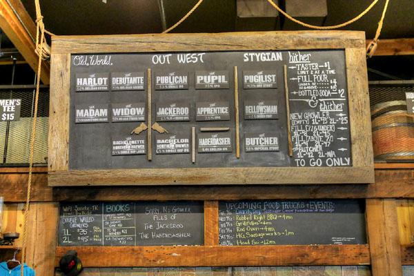 Societe Brewing Company Tap List