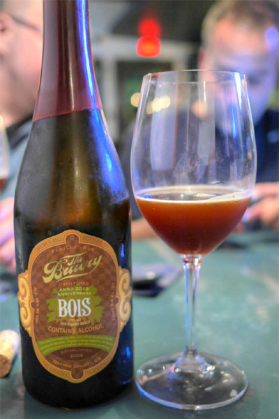 2013 The Bruery Brandy Barrel Bois