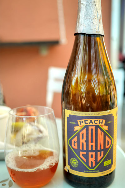 2013 Great Divide Peach Grand Cru