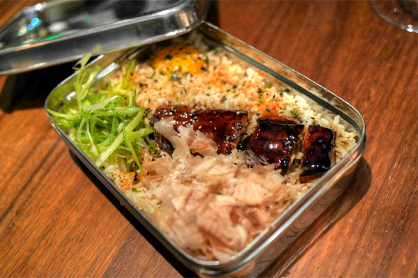 BBQ Eel Lunch Box