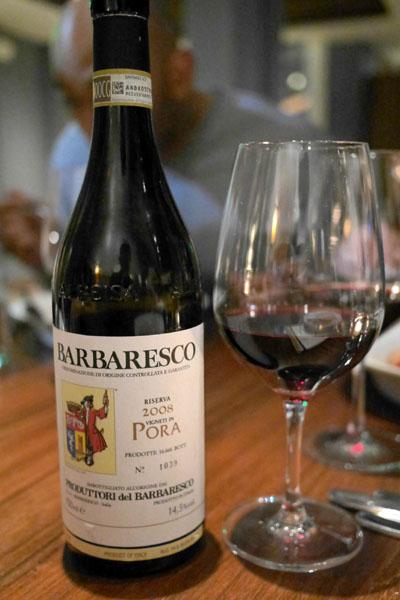 2008 Produttori del Barbaresco Barbaresco Riserva Pora