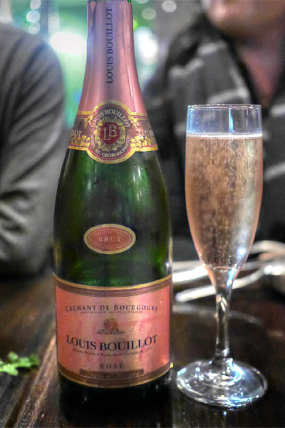 Louis Bouillot brut rose NV cremant d'bourgogne, france