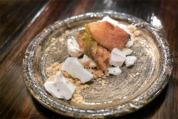 Deconstructed Pear Pie