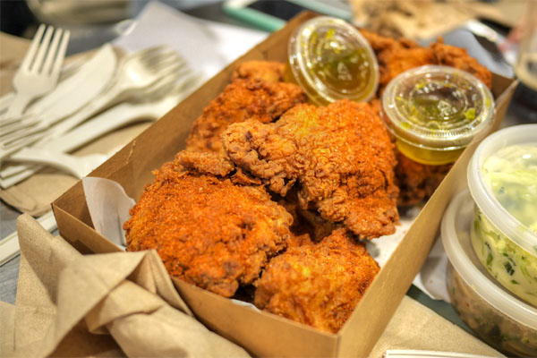 Eight Piece Fried Chicken