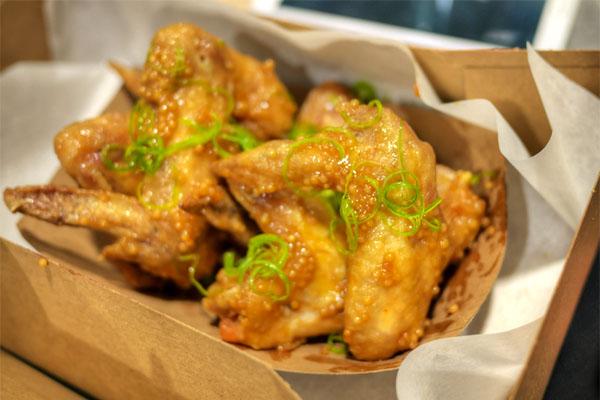 Delicious' Mustard Wings