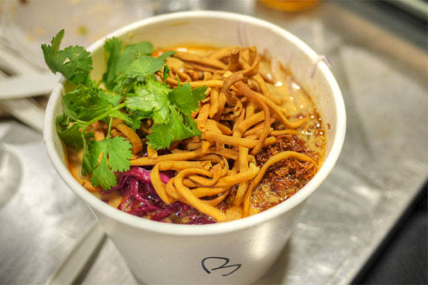 Khao Soi with Wagyu Brisket