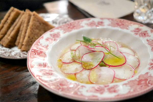 Fresh Ricotta and Radish
