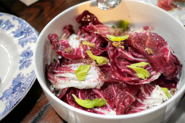 Radicchio & Braised Cardoon
