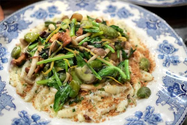 Mushroom Parmesan Cavatelli