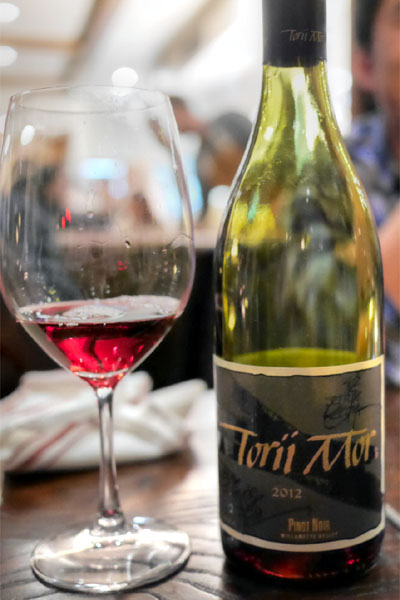 Pinot Noir, Torii Mor 2011, Willamette Valley, OR