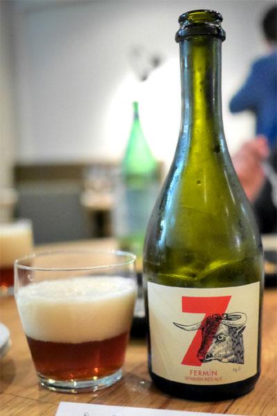 Mateo & Bernabe 7 Fermin, Spanish Red Ale, Rioja