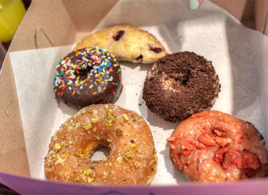 Cofax Coffee Doughnuts