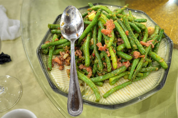 Dry Stir Fried Green Beans