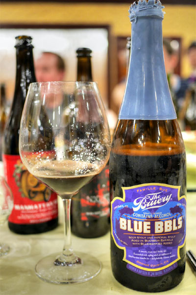 2014 The Bruery Blue Bbls