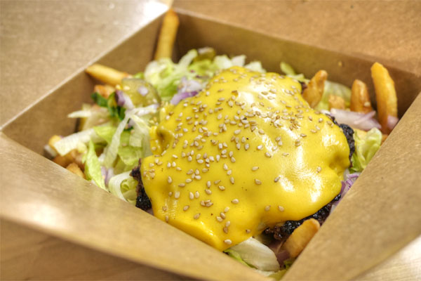 Cheeseburger Poutine