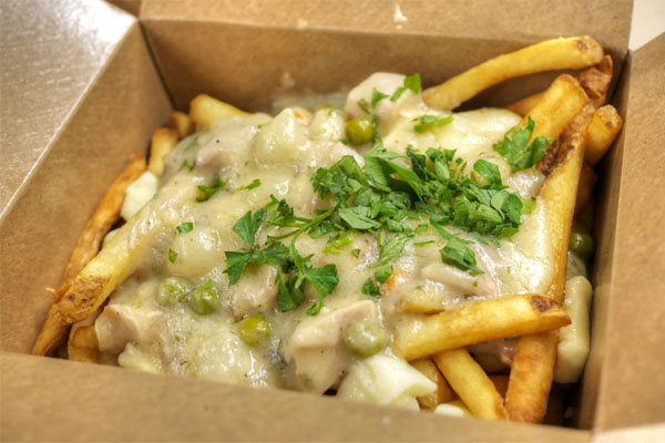 Chicken Pot Fries