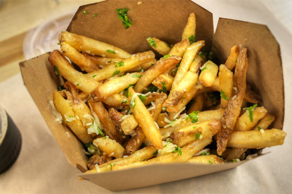 Garlic Truffle French Fries