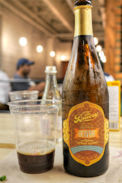 2015 The Bruery Cuivre