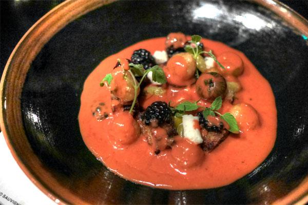 Wild Berry & Tomato Gazpacho