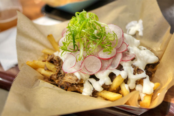 Pork Adobo Fries
