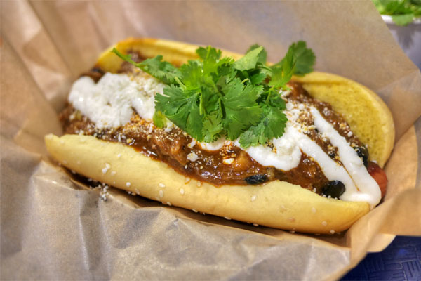 Oxtail Hot Dog