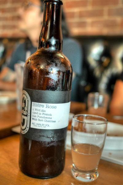 2015 de Garde Bière Rose