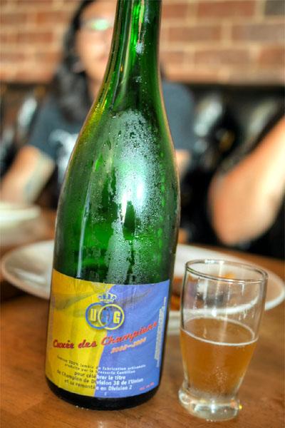2004 Cantillon Cuvée des Champions
