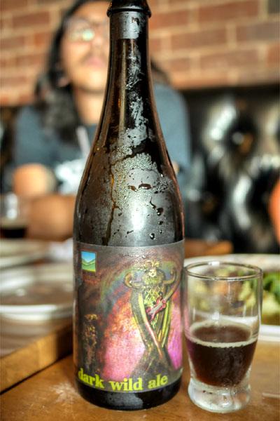 Upland Dantalion Dark Wild Ale
