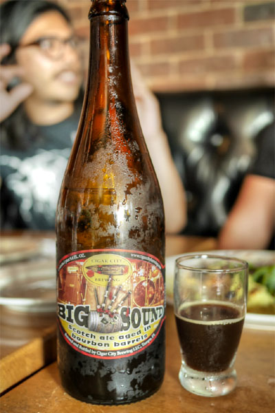 2014 Cigar City Bourbon Barrel Aged Big Sound Scotch Ale