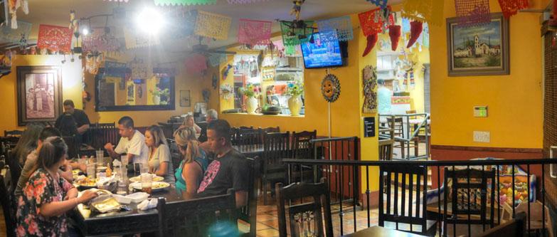 Taqueria Los Anaya Dining Room