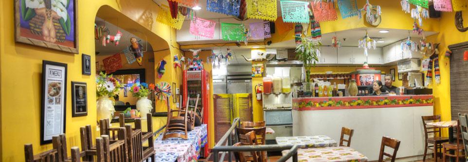 Taqueria Los Anaya Dining Interior