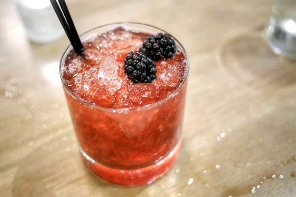 Blackberry Sherry Cobbler