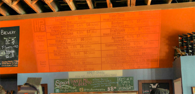 The Hermosillo Tap List