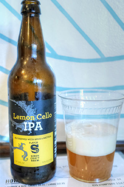 Siren Craft Brew Limoncello IPA