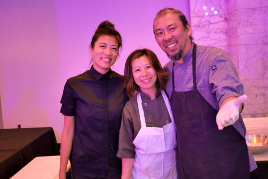 Sushi Chef Yoya Takahashi & Hamasaku Team