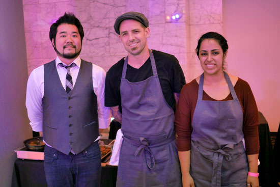Executive Chef Philip Pretty & Fundamental LA Team