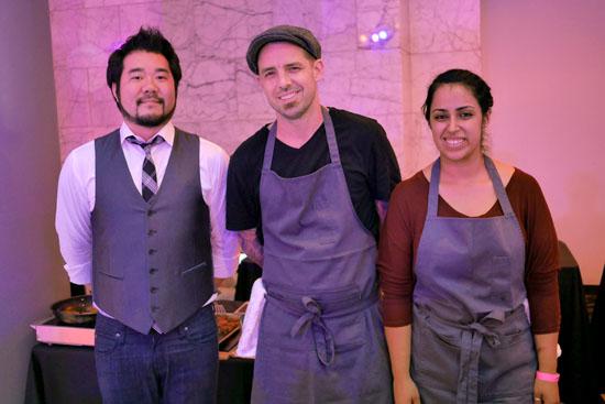 Executive Chef Philip Pretty & Fundamental LA Team