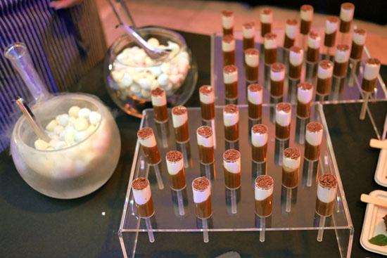 Mini Pushpops | exotic passion coconut crémeux, white chocolate, chocolate pop rocks / Nitro Cotton Candy Dragon Breath
